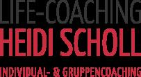 Life-Coach Heidi Scholl in einer Gruppensitzung